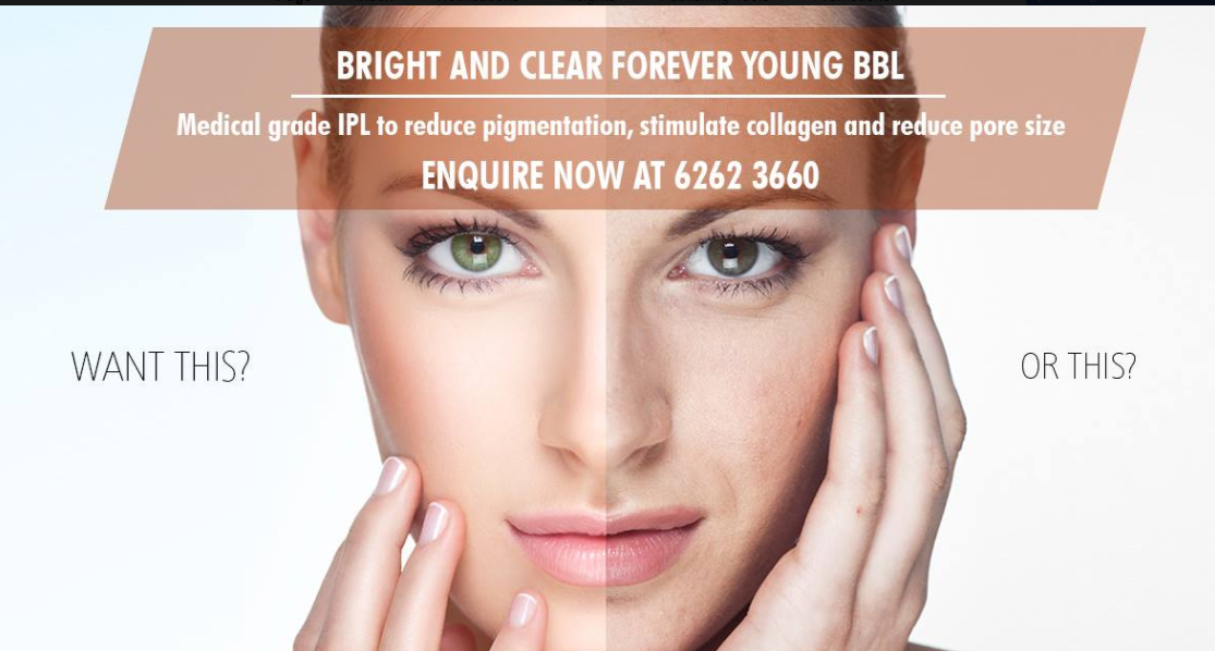 Bright And Clear Forever Young Bbl Laser Amp Aesthetic