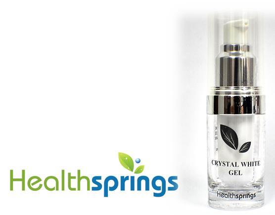 HEALTHSPRINGS CRYSTAL WHITE GEL