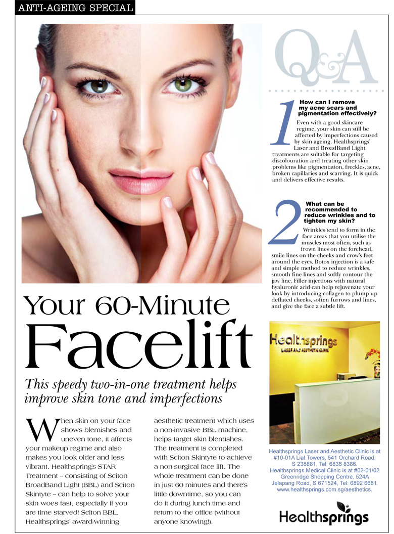 Press Media - Anti-Ageing Special (November 2012 Issue)