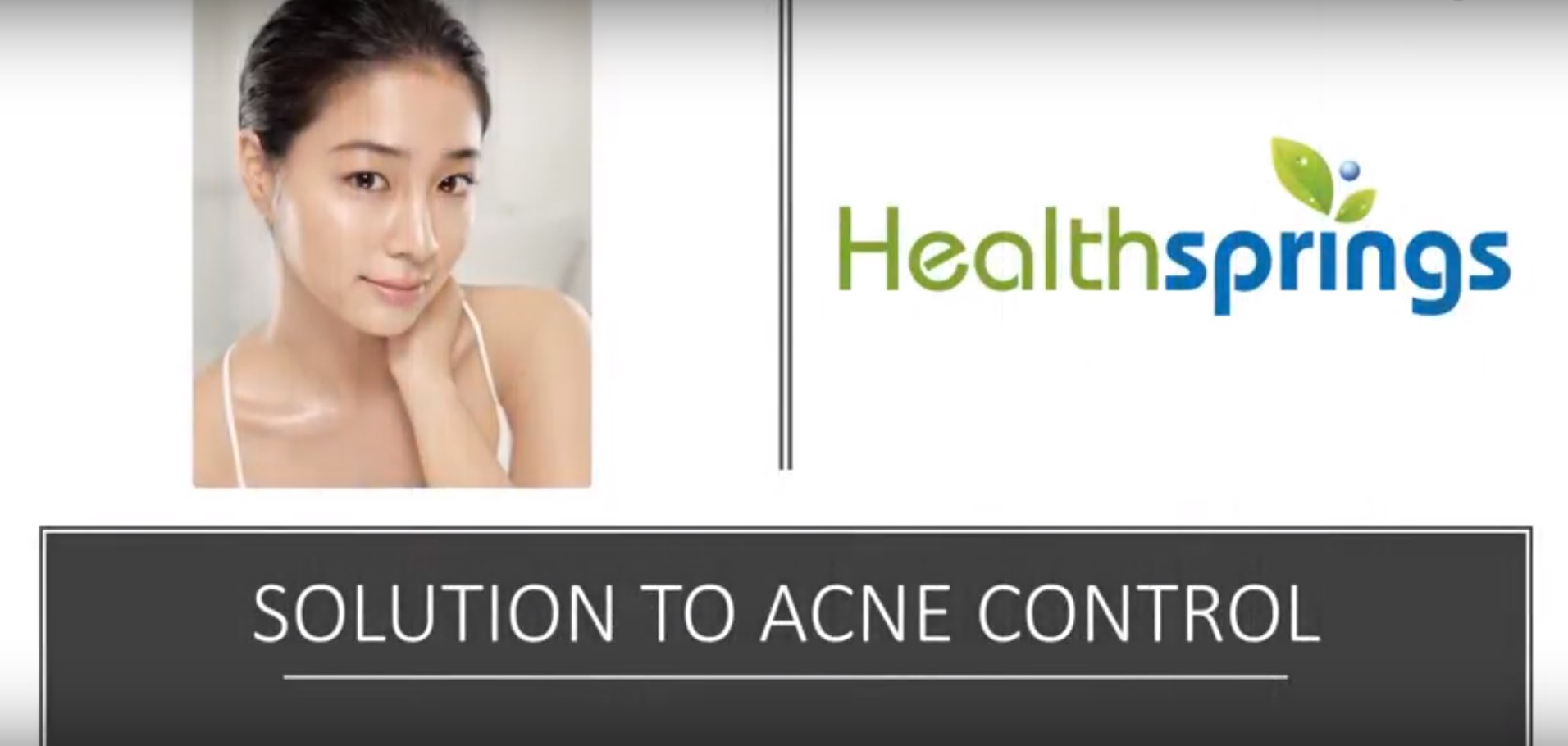 SOLUTION TO ACNE CONTROL