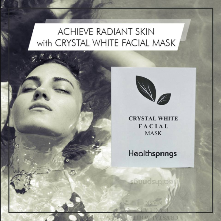 Crystal White Facial Mask