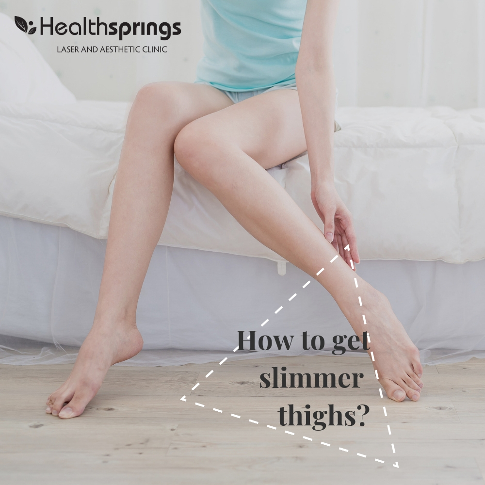 How to get slimmer thighs?