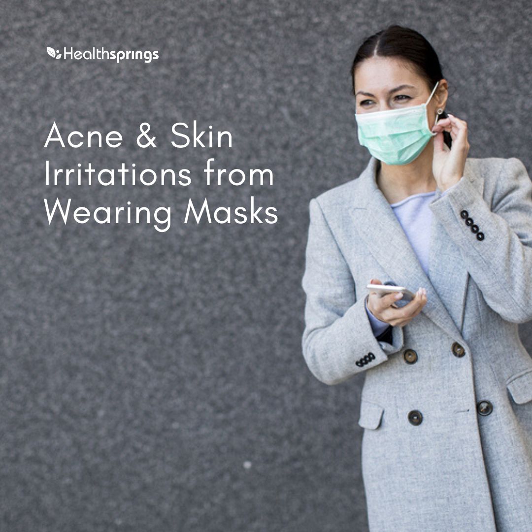 Acne & Skin Irritation from Face Mask
