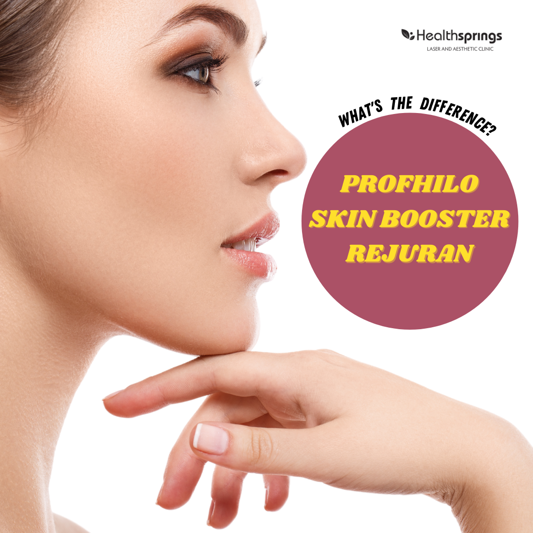 Profhilo, Skinboosters and Rejuran, what is the difference?